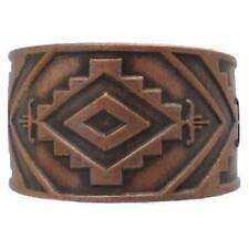 Solid Copper Ring Southwestern Handmade Western Jewelry Southwest Adjustable New