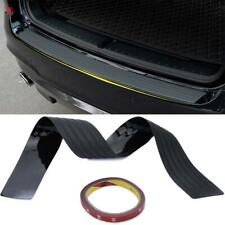Auto Rear Back Door Bumper Sill Protector Plate Rubber Cover Guard Anti Scartch