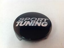 "Sport Tuning Black Aftermarket Wheel Rim Center Hub Cap SPT F-1 2"" Diameter SPT9"