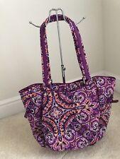 NWT Vera Bradley Iconic Glenna Satchel handbag Dream Tapestry/Silver  $69