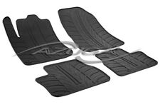 Design Gummimatten für Peugeot 2008 ab 2013 Gummi-Fußmatten inkl. Clips