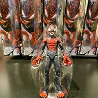 MILES MORALES Spider-Man Marvel Legends Maximum Venom -no Venompool BAF -IN HAND