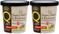 NOW Foods Q Cups, Savory Garlic & Mushroom Quinoa, 2 oz. (2-Pack)