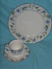Vintage Gorham China Sweet Violet Dinner Plate Cup & Saucer