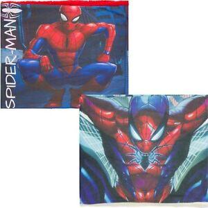 Official Marvel Spider-Man Fleece Lined Snood Neck Gaiter Scarf Set With Mask