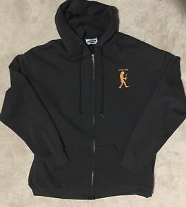 """Vintage 1998 Pearl Jam """"Yield"""" Tour Zip Hoodie """"Do The Evolution"""" XL Embroidered"""