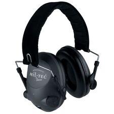 Mil-Tec Elektronischer Gehörschutz Hörschutz Schallschutz oliv helmkompatibel