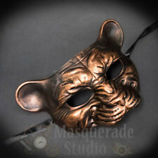 Leopard Haunted Animal Spirit Wall Decoration Halloween Masquerade Mask [Copper]