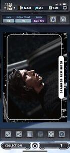 Topps Star Wars Digital Card Trader Black TLJ Movie Cards Reminder Insert Award