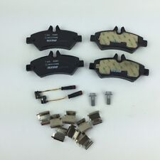 To Suit Volkswagen  Crafter 35 50  Rear Brake Pad Set  Ref 2E0698451