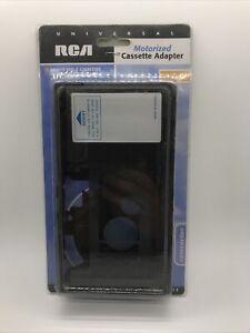 Vintage RCA Universal VHS-C to VHS Cassette Motorized Adapter VCA114 (boxcc)