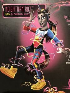2013 Monster High Freaky Fusion NEIGHTHAN ROT Doll By Mattel. Open Box.