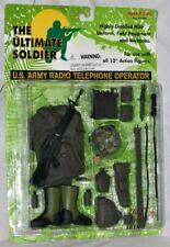 1997 21st Century Toys Ultimate Soldier US Army Radio Telephone Operator Set