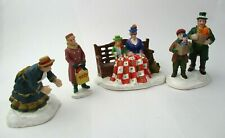 Small Lot of Lemax Figures  - Winter Christmas Village