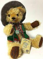 """Vintage Hermann Octoberfest Limited Edition 17"""" Mohair Growler Teddy Bear"""