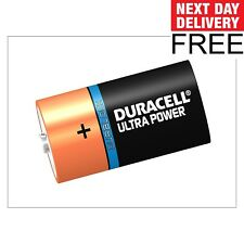 Duracell D Cell Ultra Power Batteries Pack of 2 F&F