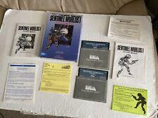 SENTINEL WORLDS I*COMPUTER SPACE SIM ROLE PLAYING GAME*Tested & Works*