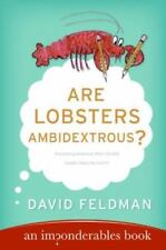 Are Lobsters Ambidextrous?: An Imponderables Book (Imponderables-ExLibrary
