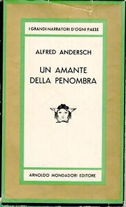 UN AMANTE NELLA PENOMBRA Alfred Andersch Notte della giraffa Parigi Colpo Stato