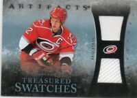 ERIC STAAL 10-11 UPPER DECK ARTIFACTS TREASURED SWATCHES GAME-USED CARD #ed 9/35