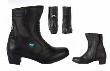 Spada 100% Leather Breathable Motorcycle Boots