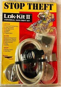 Stop Theft Lock Lok Kit II Universal Anti Theft Kit Office Home Shop Electronics