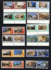 GIBRALTAR Queen Elizabeth II 1971 Full Decimal Currency Pairs SG 255 - 286  MNH