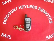 COMPUSTAR  AFTERMARKET KEYLESS REMOTE VA5JREC340-1WSP   4-BUTTON  BLUE LIGHT VGC