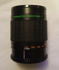 Nikon Promaster Spectrum 7 500mm 1:8 MIRROR LENS No. 420044 (AC1)