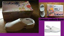 Calzature sanitarie donna mis. 38 bianco , zoccoli sanitari Sabot CE Italia