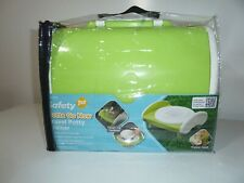 Safety 1st Gotta Go Now Travel Potty Trainer Lime Green & White NEW