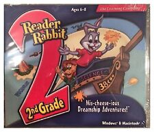 The Learning Company Reader Rabbit 2nd Grade Mis-cheese-ious Dreamship Adventures for PC, Mac