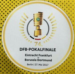 DFB Pokalfinale Patch 2017 BVB Dortmund Frankfurt für Trikot Match Detail Badge