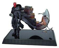 Star Wars Episode 1 Darth Maul & Bloodfin Statue Gentle Giant New