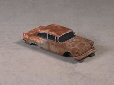 HO Scale Blue & White Rusted Out 1958 Chevy