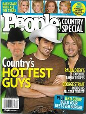 People Country Special Magazine Hottest Guys Brad Paisley Keith Urban BBQ Guide