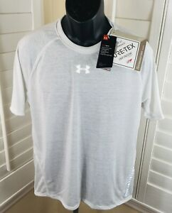 $60 Under Armour Breeze Short Sleeve GORE-TEX T-Shirt, 1350086-014, Size Large