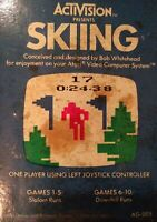 Skiing for Atari 2600  game cartridge FREE SHIPPING VINTAGE
