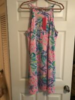 NWT Lilly Pulitzer Margot Dress Multi It Was All A Dream XL Free Shipping