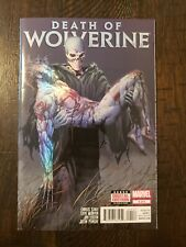DEATH OF WOLVERINE #4 NM-/NM 2014 FOIL COVER