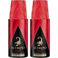 Déodorant Scorpiorouge spray 24h homme Lot 2x150ml
