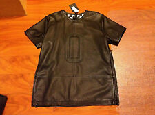 80% SALES Marcelo Burlon Westbrook Italy Leather Jacket Shirt Small $2000