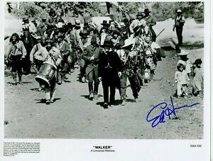 Autographié 8 x 10 Photo Classique Acteur Edition Harris En Walker 1988