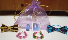 Littlest pet shop accessories PHONE TABLET BOWS NECKLACES LPS  PET NOT included