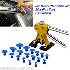 Car Body Paintless Dent Repair Tools Puller Removal  w/ 18 Glue Pulling Tabs