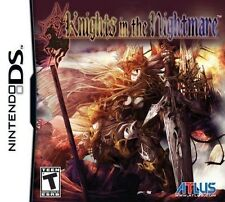 Knights in the Nightmare [Nintendo DS DSi, Atlus Action Strategy RPG] NEW