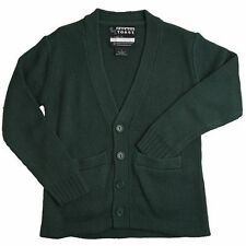 French Toast Boys School Uniform Anti-Pill Cardigan Sweater Size 4-20