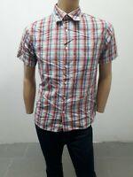 Camicia LEVIS Uomo Shirt Man Chemise Homme Polo Uomo Taglia Size M Cotone 8508