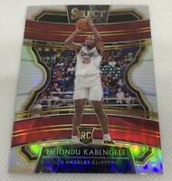 2019-20 Panini Select Concourse Silver Prizm Refractor RC Mfiondu Kabengele #19