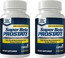 Super Beta Prostate Supplement for Men - Urinary Health (120 Caplets, 2-Pack)